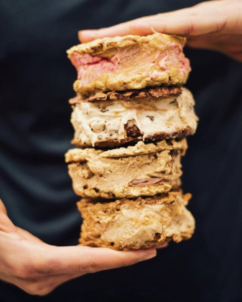 Nice Cream Sandwiches, @mikeanddaves